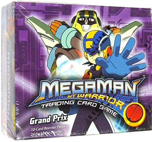 (Mega Man NT Warrior Trading Card Game Grand Prix Booster Box 24 Packs)