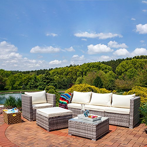 Sunnydaze 6 Piece Outdoor Furniture Cushions Price
