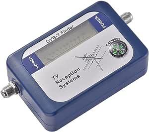 Kreema DVB-T Finder Antena de TV terrestre digital Antena Medidor de intensidad de la señal con brújula Sistemas de recepción de TV
