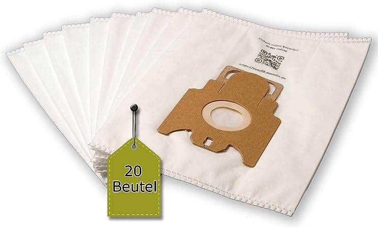 eVendix Bolsa para aspiradora Adecuada para Miele Parquet & Co 4000 | 20 Bolsas de Polvo + 2 microfiltros | Similar a la Bolsa Original: Tipo FJM: Amazon.es: Hogar