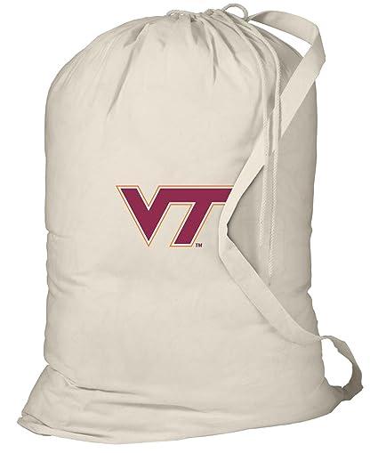 Amazon.com: Virginia Tech – Bolsa para la colada Virginia ...