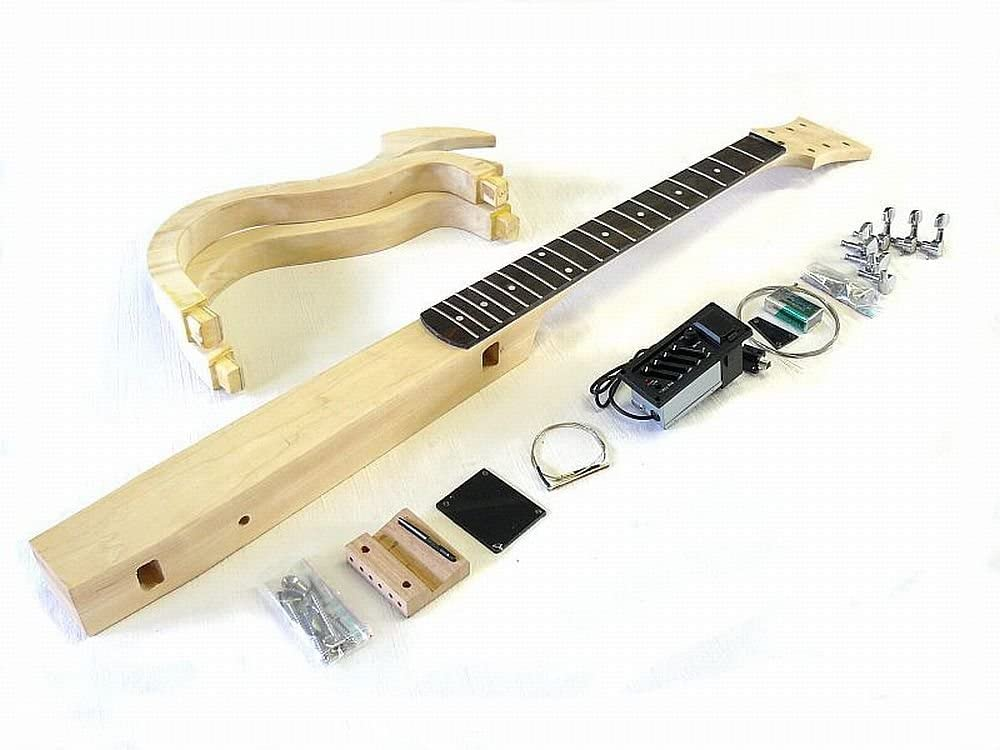 kit de guitarra eléctrica, ML-Factory Silent Guitar with ...