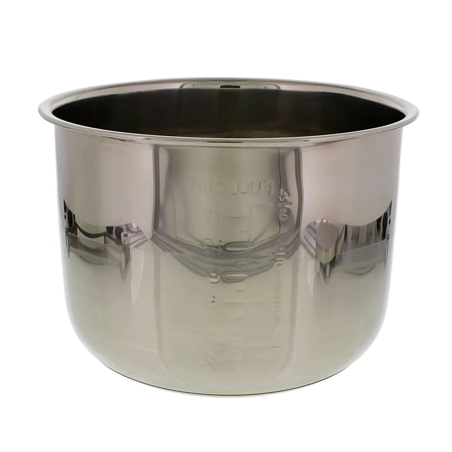 Cheftor 6 Quart Stainless Steel Removable Electric Pressure Cooker Cooking Pot Insert by CHEFTOR