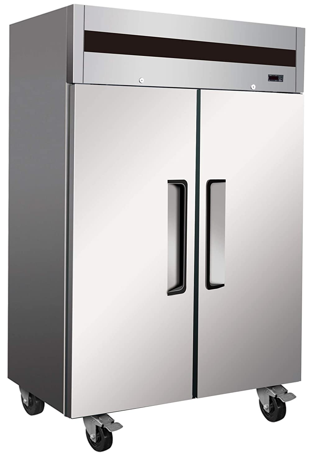 Alpha AT56R Rach-in, Commercial Solid 2 Door Refrigerator