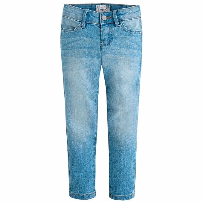 5a3a121bd Mayoral Pantalon Tejano Niña 7-9 Años  Amazon.es  Ropa y accesorios