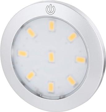 W Encastré Luminaire Mât Réglable Aluminium Led Pour Intensité 280 Blanc Spot 3 Avec Superslim Rond Tactile LumenModerne Interrupteur wvn8Nm0