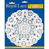 Royal Medallion Lace Round Paper