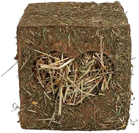 Small Animals Guinea Pigs Rabbits Boredom Breaker Medium Hay Cube