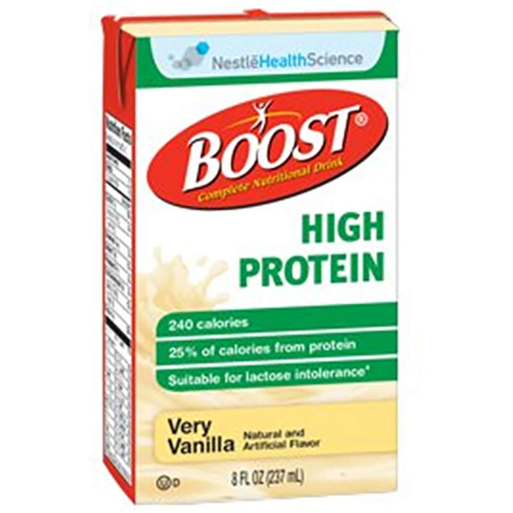 Nestle Boost High Protein Vanilla (Case of 4)