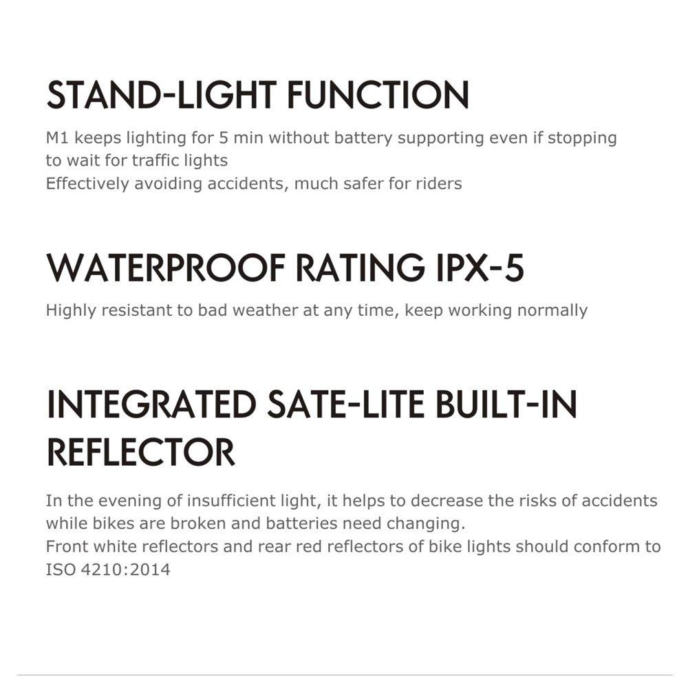 Doppel-Lichtkabel enthalten SUNSPEED R/ücklicht//R/ückstrahler fahrrad dynamo STVZO zugelassen
