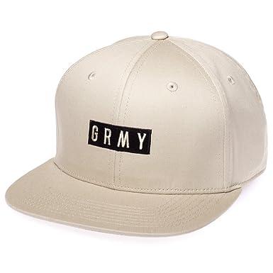 Grimey Gorra Overcome Gravity Snapback FW17 Sand-Snapback: Amazon.es: Ropa y accesorios