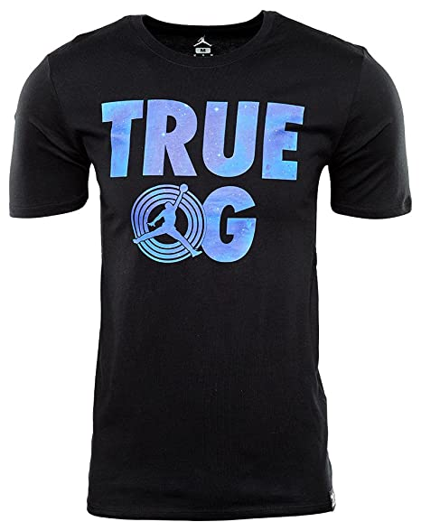 433b58889d8 Image Unavailable. Image not available for. Color: Nike Mens AJ 11 TRUE OG  TEE, BLACK/CONCORD ...