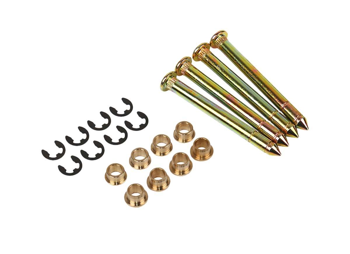 MOTOKU Car Door Hinge Pins & Pin Bushing Front both Door Kit For Ford F150 F250 F350 Bronco