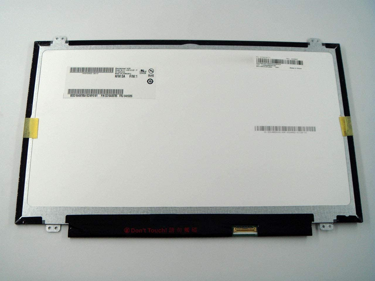 """Genuine Parts for Lenovo ThinkPad T440S,T450S,T440,T450, 14.0"""" IPS FHD (1920x1080) LCD Screen Module B140HAN01.3 Non-Touch"""