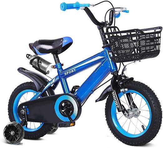 YUMEIGE Bicicletas Bicicleta Infantil con portavasos y Rueda de ...