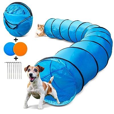 Topleader Pet Dog Tunnel