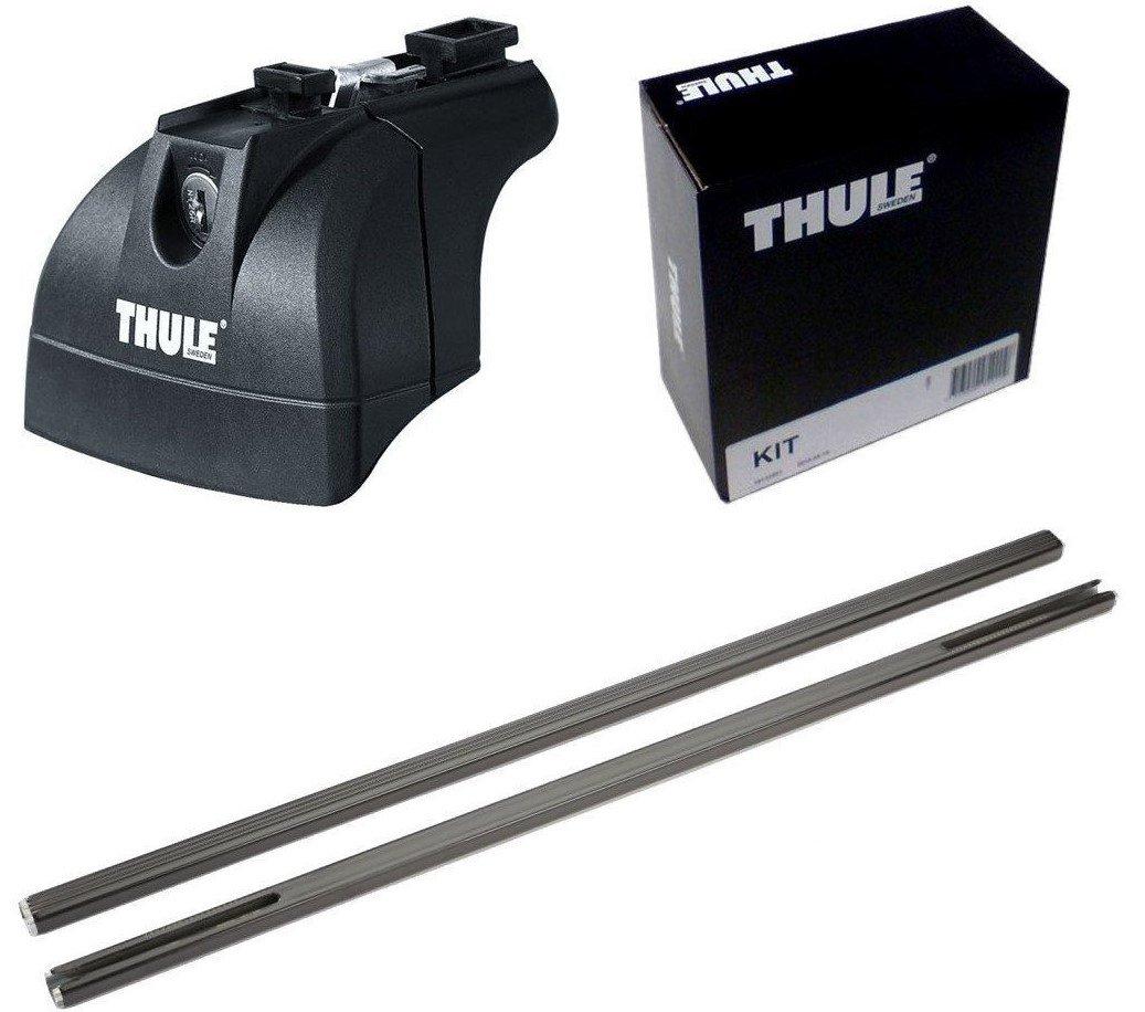 THULE スーリー ベースキャリアセット 753+760+3018 スバル レガシィツーリングワゴン H15/5- BP5/BPE 753+760+3018 B01HGVZHCQ
