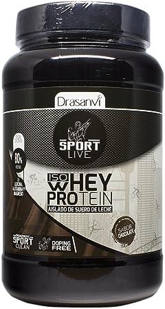 Sport Live Whey Protein Aislado Chocolate - 800 gr: Amazon.es ...
