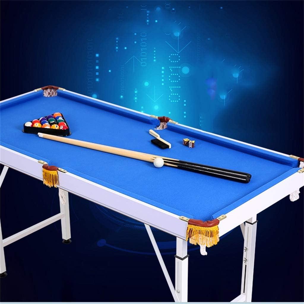 LCRACK Set De Billar con Bolas Tacos, Tiza, Mesa De Billar for Snooker Deporte Juego Familia (Color : Plegable): Amazon.es: Hogar