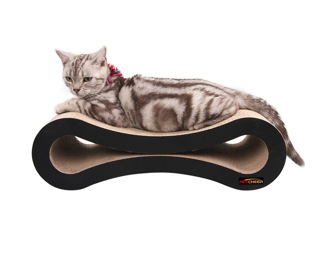 PetCheer Ultimate Cat Scratcher Lounge Bed by PetCheer