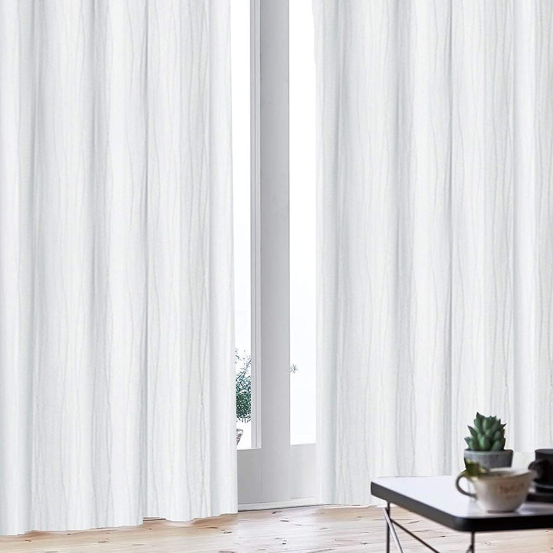 二次ステレオタイプうなずく夜も透けにくいミラーレース UVカット ミラーカーテン 8サイズから選べる