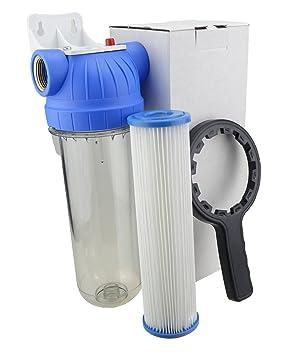 Hervorragend Filter für Hauswasserwerk Gartenpumpe Hauswasserleitung 10 HM45