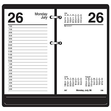 AT-A-GLANCE calendario Recambio, agenda de mesa de, 3 - 1/2 ...