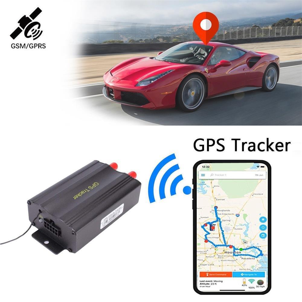 GPS Tracker TK103B with Remote Control GSM Alarm SD Card Slot Anti-theft