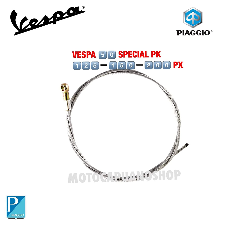 CAVO FRENO POSTERIORE OCCHIELLO VESPA 50 SPECIAL R L N PK S XL RUSH N V MotoCapuano 351878084400