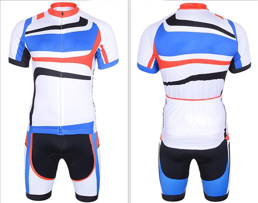 QXF Sommer Bike-Trikot Kurzarm-Trikot Anzüge Outdoor-Bekleidung, l