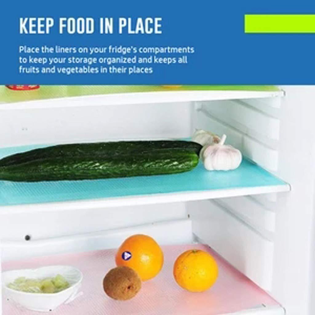 Amazon.com: 4 alfombrillas de refrigerador de goma EVA ...