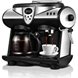 Coffee Machine Commercial Household Automatic Steam Milk Machine Coffee Pot Coffee Grinder Coffee Container