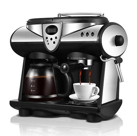 Amazon.com: Máquina de café comercial hogar máquina de leche ...