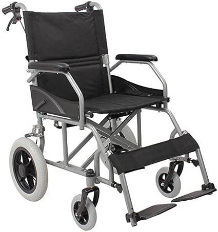 Mobiclinic Neptuno Sedia A Rotelle Ortopedica Da Transito Per Disabili E Anziani Pieghevole Alluminio Freni Sulle Maniglie Poggiapiedi