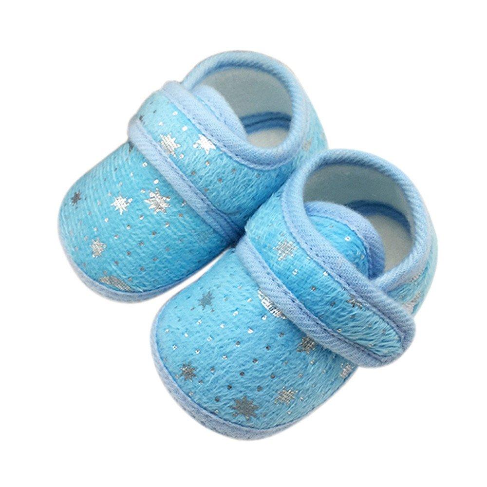 Beikoard - Chaussure Bébé Chaussures Enfant en Bas Âge Antidérapantes Chaussures à Imprimé Étoiles