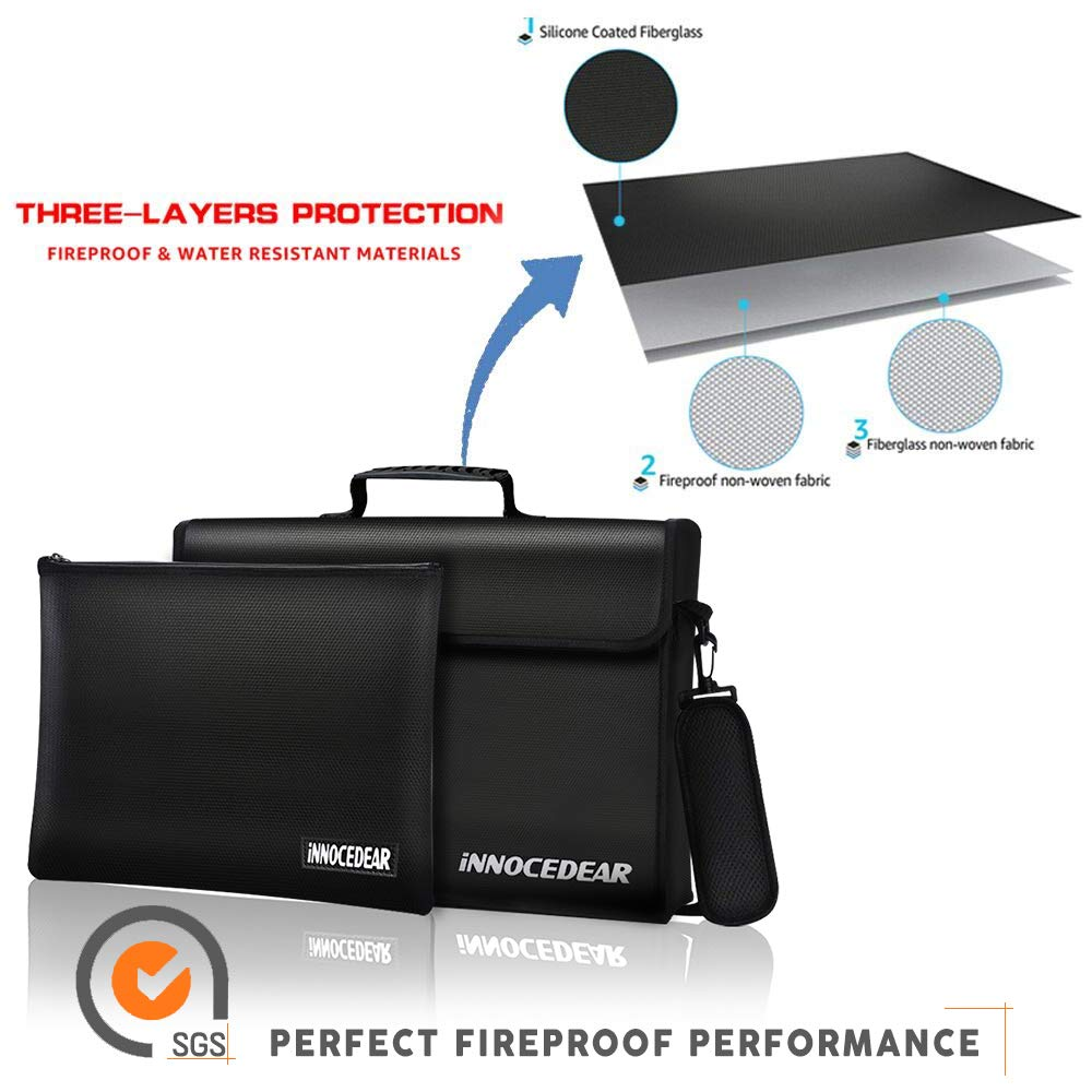Amazon.com: Fireproof Bag-Large (17 x 12 x 5.8 inches), XL ...