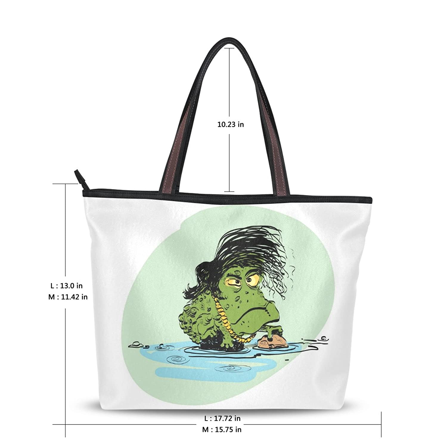 Lightweight Tote bag,Animal Primitive Dinosaurs,Handbag for Women