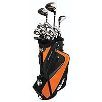 Wilson Golf Profile HL Teen Golf Package Set - Orange