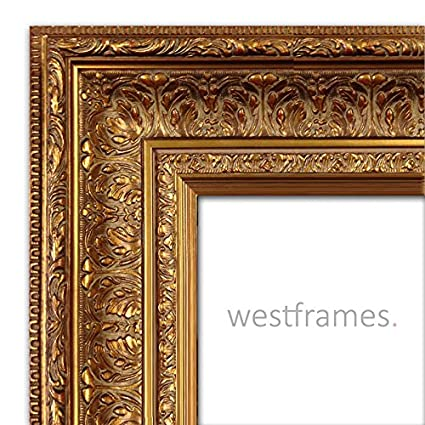 Amazon.com - West Frames Elegance Ornate Embossed Wood Picture Frame ...