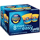 Kraft Easy Mac Original Flavor Macaroni and Cheese Dinner Cups, 16.4 Ounce