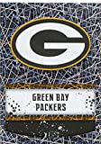 #3: 2018 Panini NFL Stickers Collection #305 Green Bay Packers Logo Foil Official Football Sticker