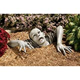Cheap Design Toscano The Zombie of Montclaire Moors Garden Statue Halloween Decoration, 31 Inch, Polyresin, Full Color