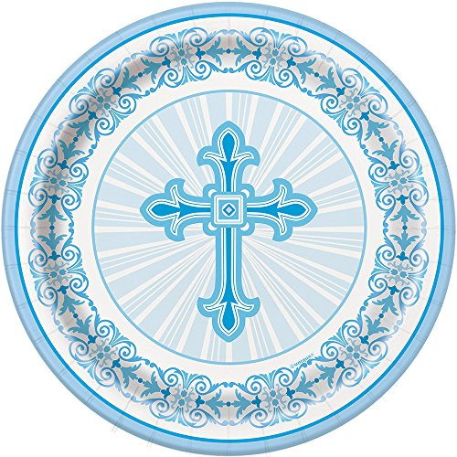 radiant-cross-blue-religious-dessert-plates-8ct