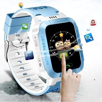 Anti-Lost reloj inteligente pulsera GPS Tracker SOS Call Location Finder para niños niños compatibles con iPhone Smartphones: Amazon.es: Hogar