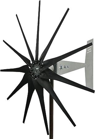 7 Blade Zinc Plated Steel Hub for Wind Turbine PMA PMG 17 mm Shaft USA