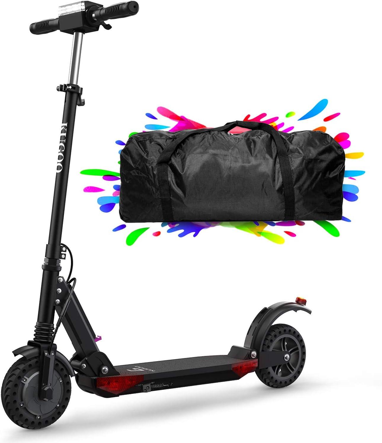 urbetter Patinete Eléctrico Scooter Plegable, 30 Km Alcance, 350W Motor hasta 30km/h, Manillar Ajustable Scooter Electrico para Adultos Unisex y Adolescentes - S1 Pro