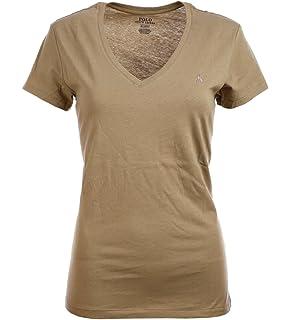 25cd583b Amazon.com: Polo Ralph Lauren Women's Crewneck Pony Logo Tee: Clothing