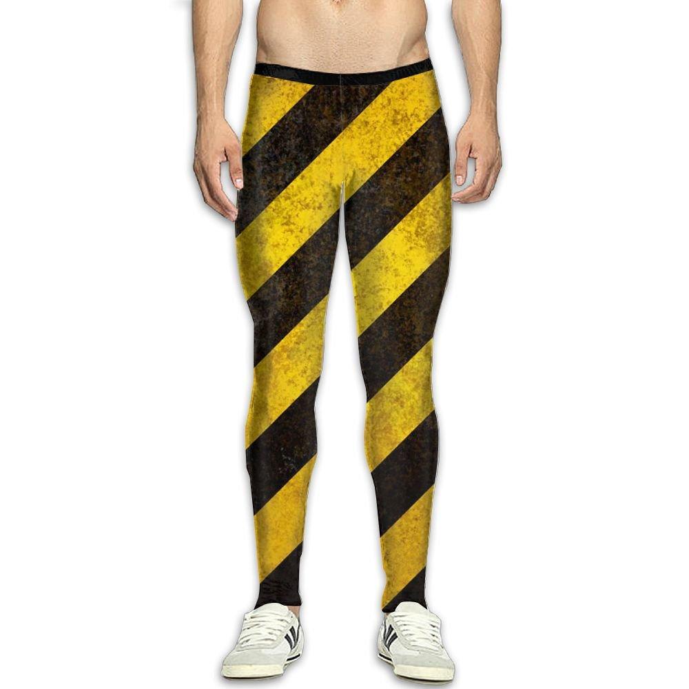 Fri Zebra Stripe Stretchy Compression Pants//Running Tights Cycling Pants Guys Reflective