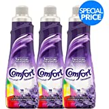 Comfort Concentrated Fabric Softener Lavender & Magnolia, 750 ml (Pack of 3)