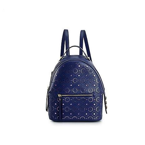 GUO - mochila creativa coreana hueco de la señora de la marca de fábrica del bolso de ...